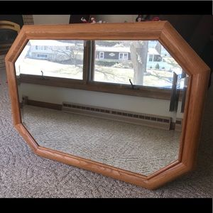 Solid Oak Mirror (42X30)